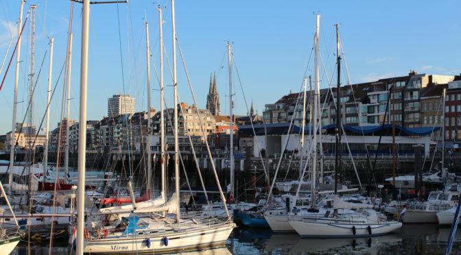 Eine der Marinas in Oostende.