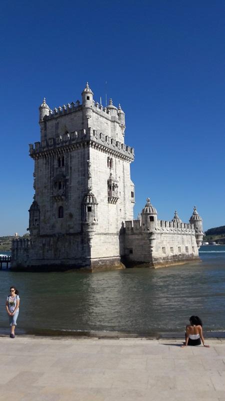 Der Torre de Belem.