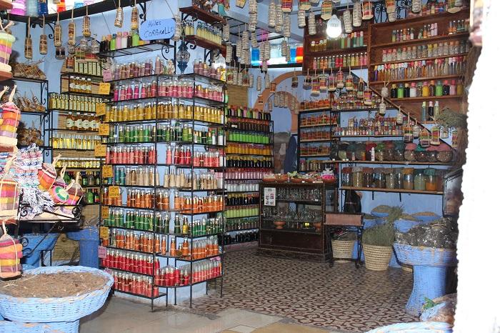 Einer der vielen kleinen Läden.